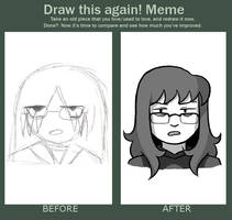 Draw This Again Meme by isjusterin