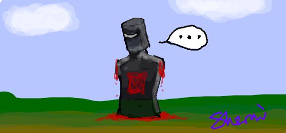black knight 2 by lunajurai