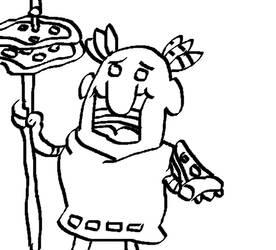 Little Caesar Demands Your Immortal Soul by Rogay