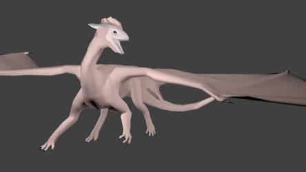 The dragon again...... by Polariche