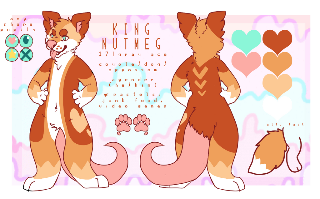 nutmeg ref by flvffy