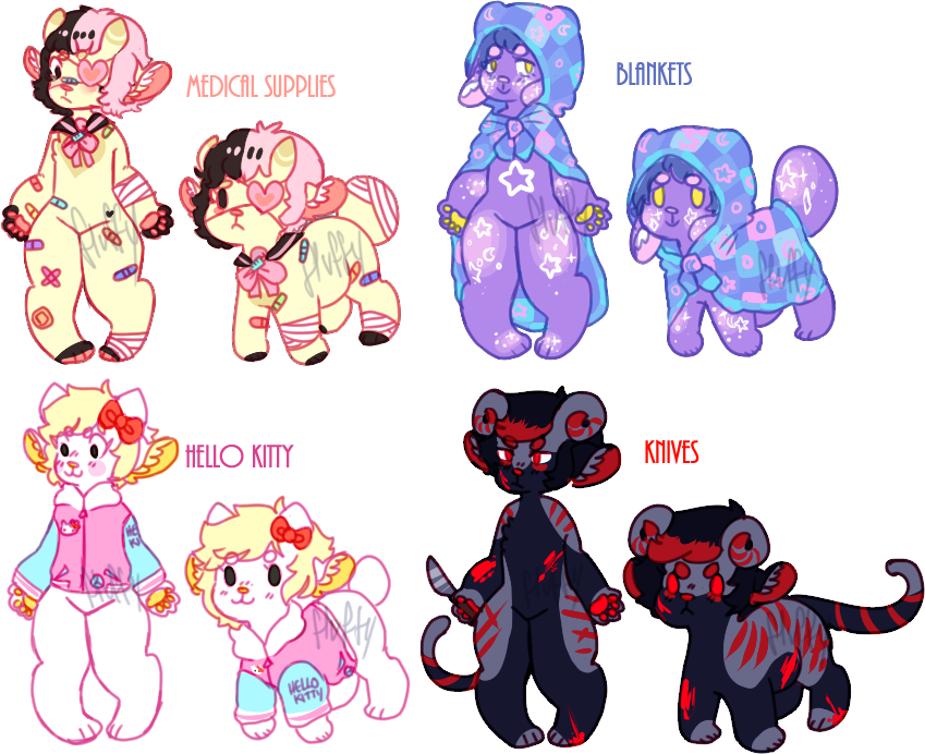 monkeep adopts 1/4 OPEN by irlnya