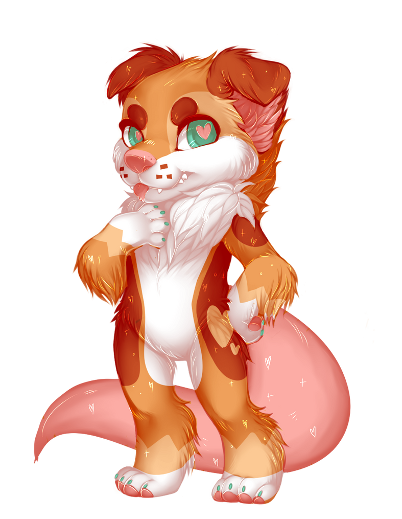 nutmeg paintie by flvffy