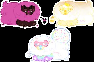 yummibear adoptables 3/3 OPEN | OTA by khoshehktoys
