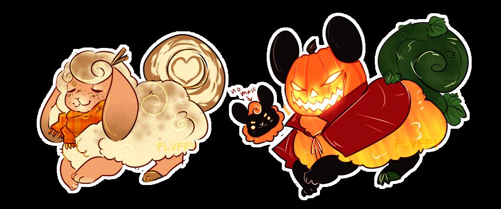 pumpkin flufferbun adopts | CLOSED by irlnya