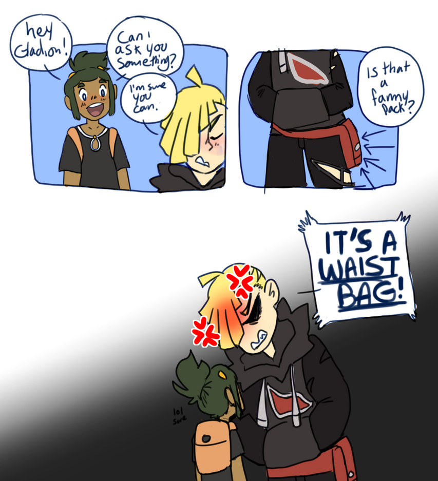 its a fanny pack by irlnya