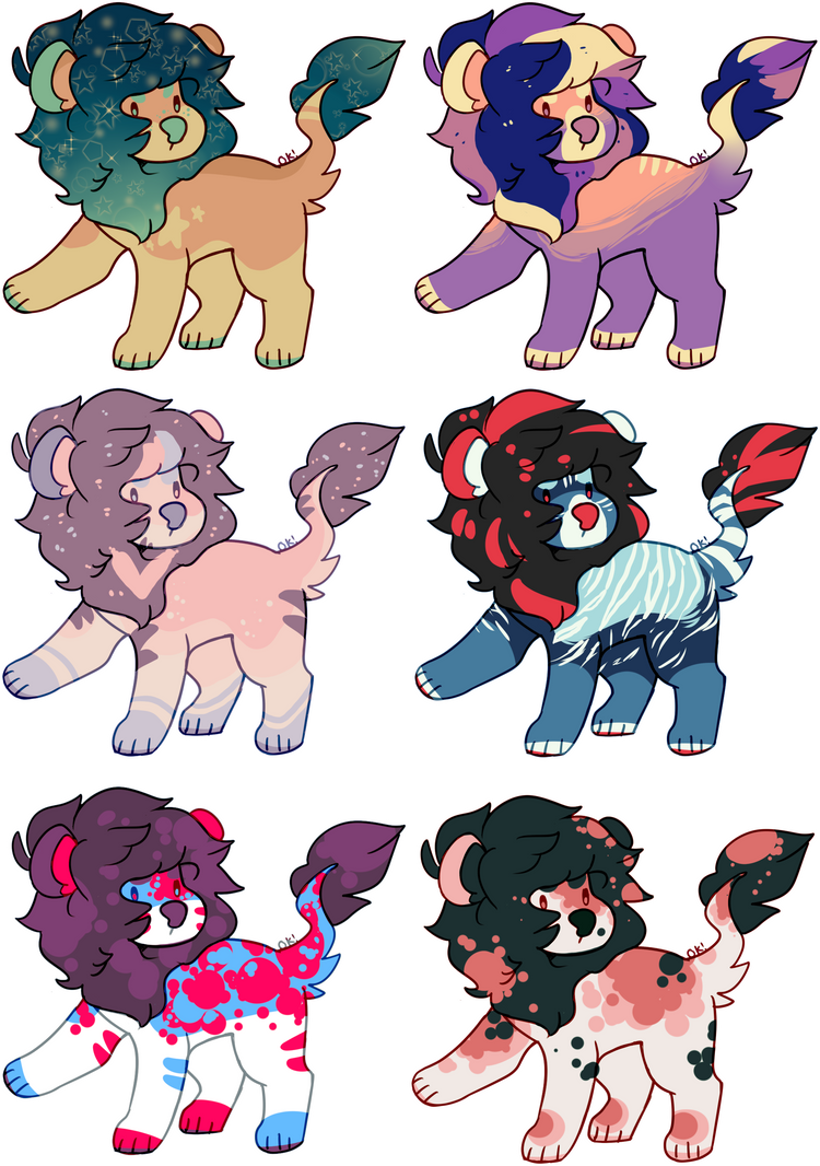 lil lion adopts | 1/6 OPEN | OTA (lowered) by irlnya