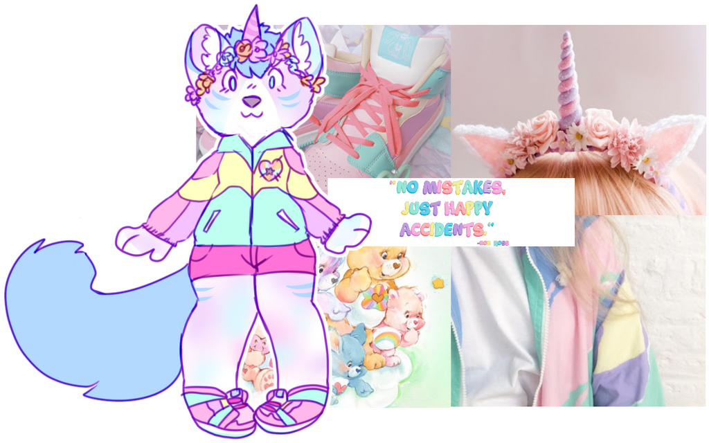 aesthetic adopt reveal: 90s unicorn by flvffy