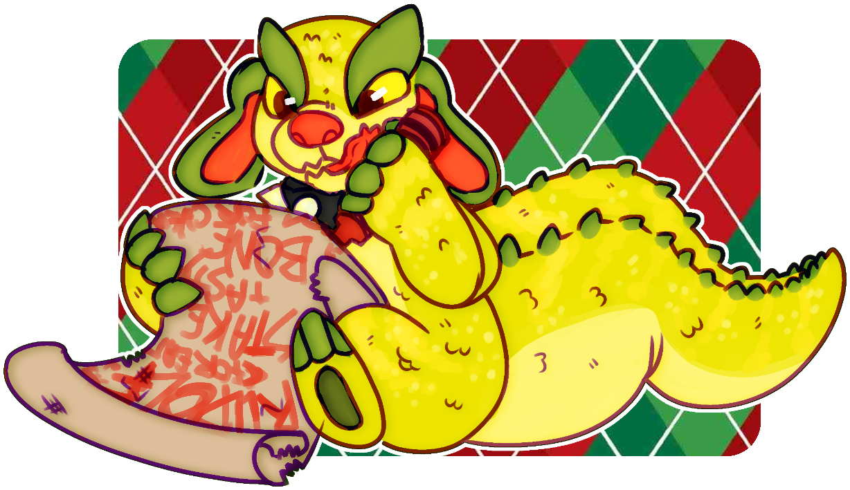 chompy christmas by irlnya