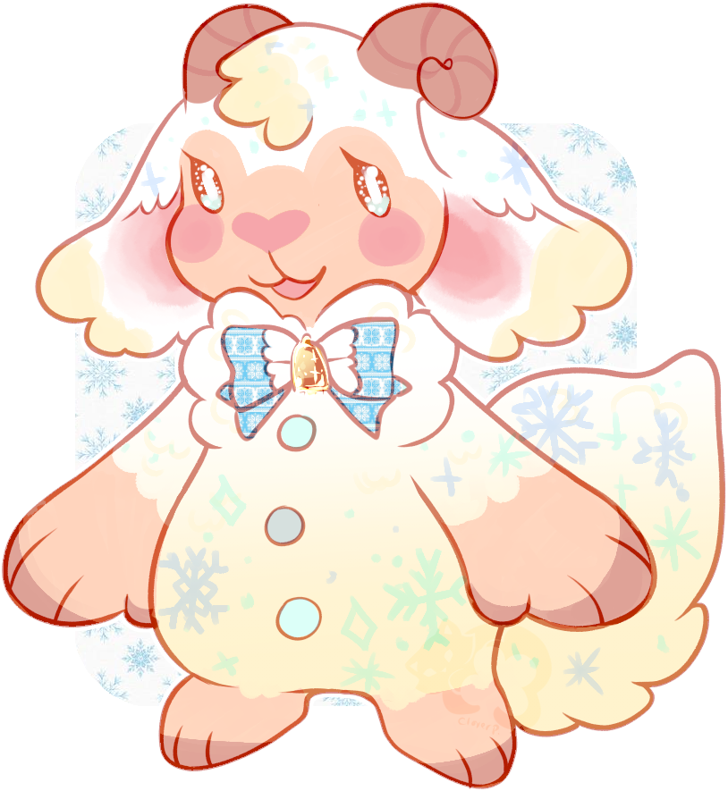 gingerbread sheep strudel by irlnya