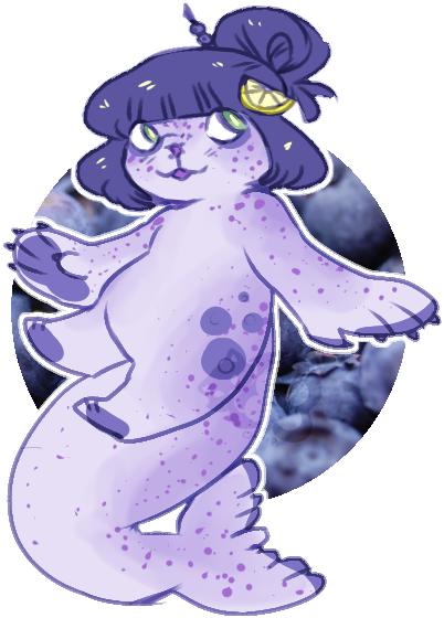 AESTHETIC ADOPT REVEAL: blueberry lemon seal by irlnya