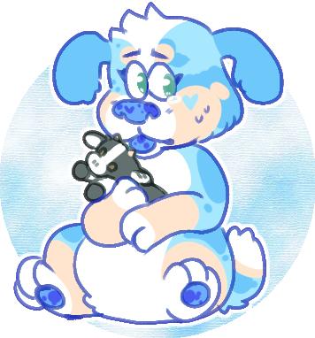 baby blue by irlnya