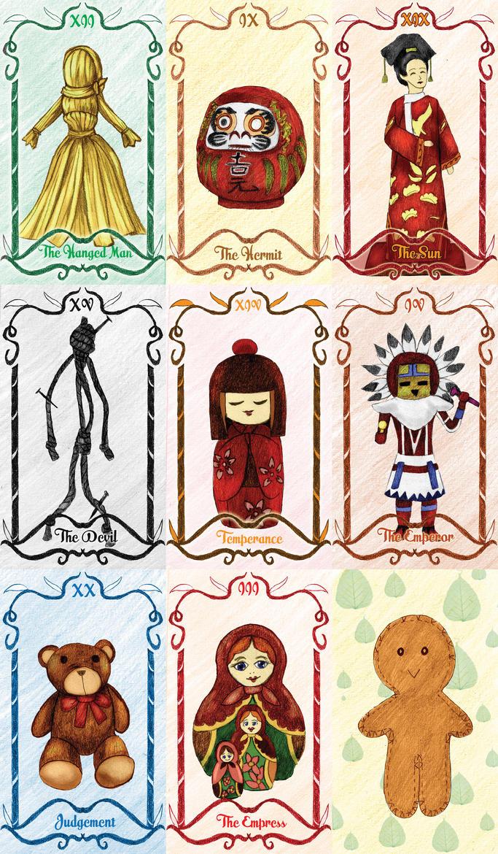 Mid Project - Tarot Card by RheinaGealtash