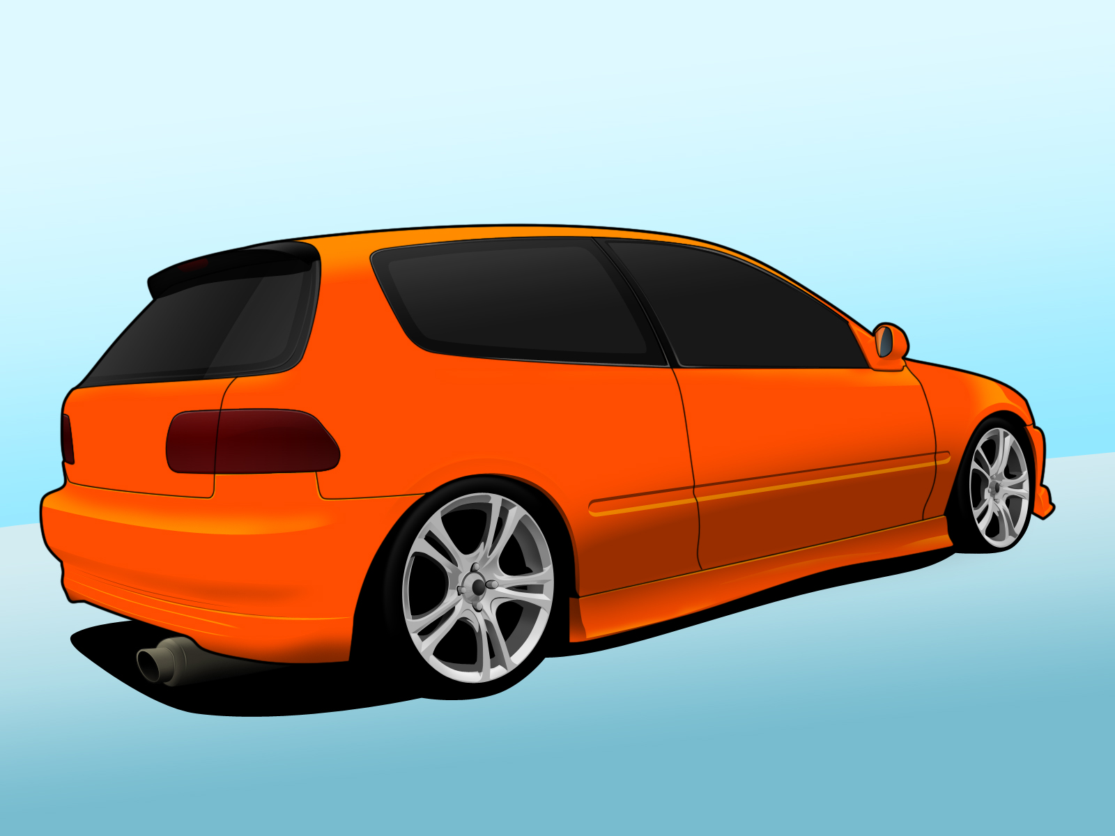 Honda civic vector by mrd2345 on deviantart for Honda owner login