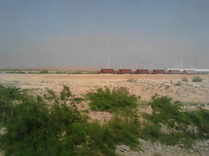 A View from Train Window - 12