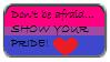 Bisexual Pride Stamp by DarkRoseRatliff