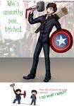 Avengers- Raiding the Props Cupboard . . .