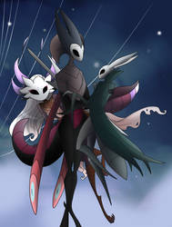 Hollow Knight - Adele, Saga and Issa
