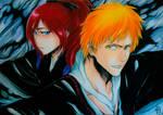 New Born | Kazui and Ichika by VizardGirl