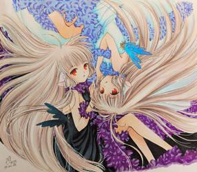 Opposite | Freya and Elda (Chobits)