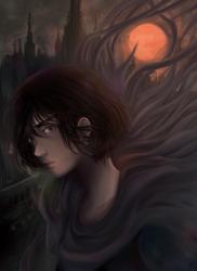 Bleeding Sun | Vin from Mistborn