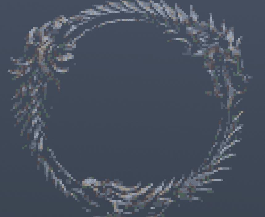 Minecraft Pixel Art Elder Scrolls Online Logo By Loucacoles