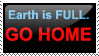 Earth is full. Go home by torinarowen