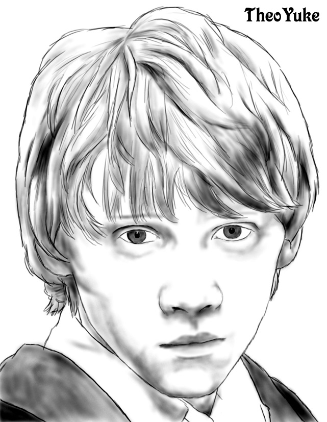 Ron Weasley in 5th year by TheoYuke on DeviantArt Rupert Grint 2017