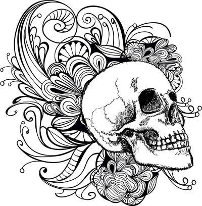 Skull by JuliaRemesova