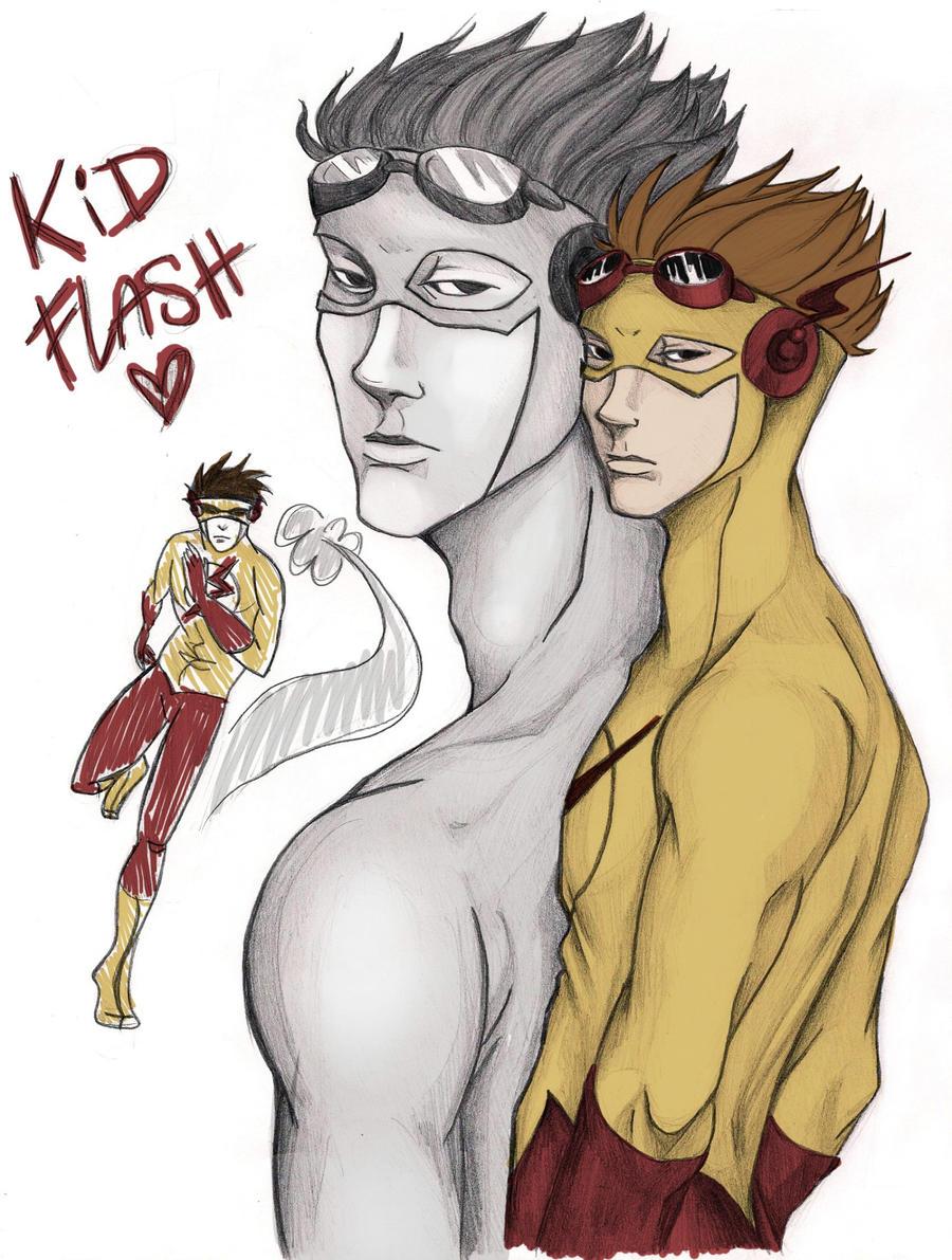 Kid Flash by 6thOfNovember