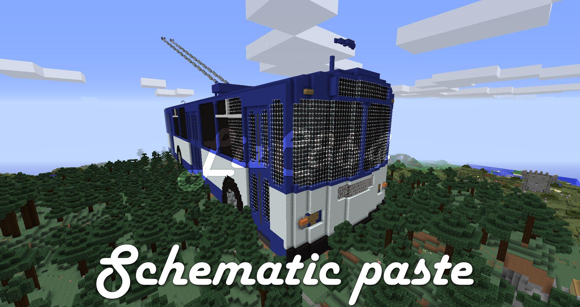 Minecraft bus schematic paste by LizC864 on DeviantArt on