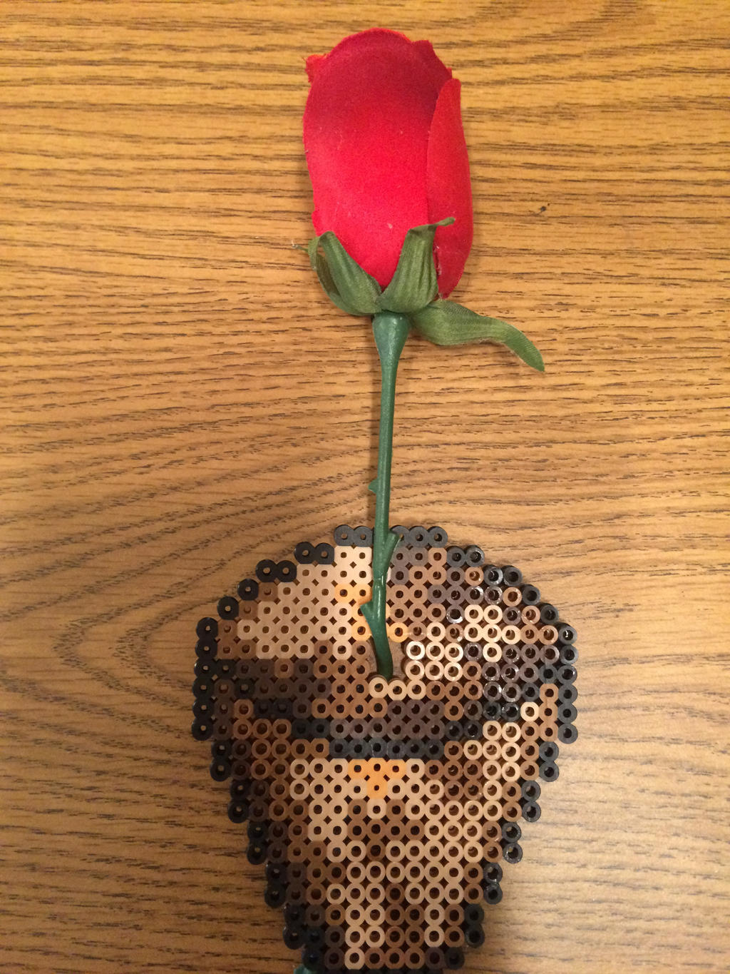Perler Minecraft Flower Pot by LizC864 on DeviantArt