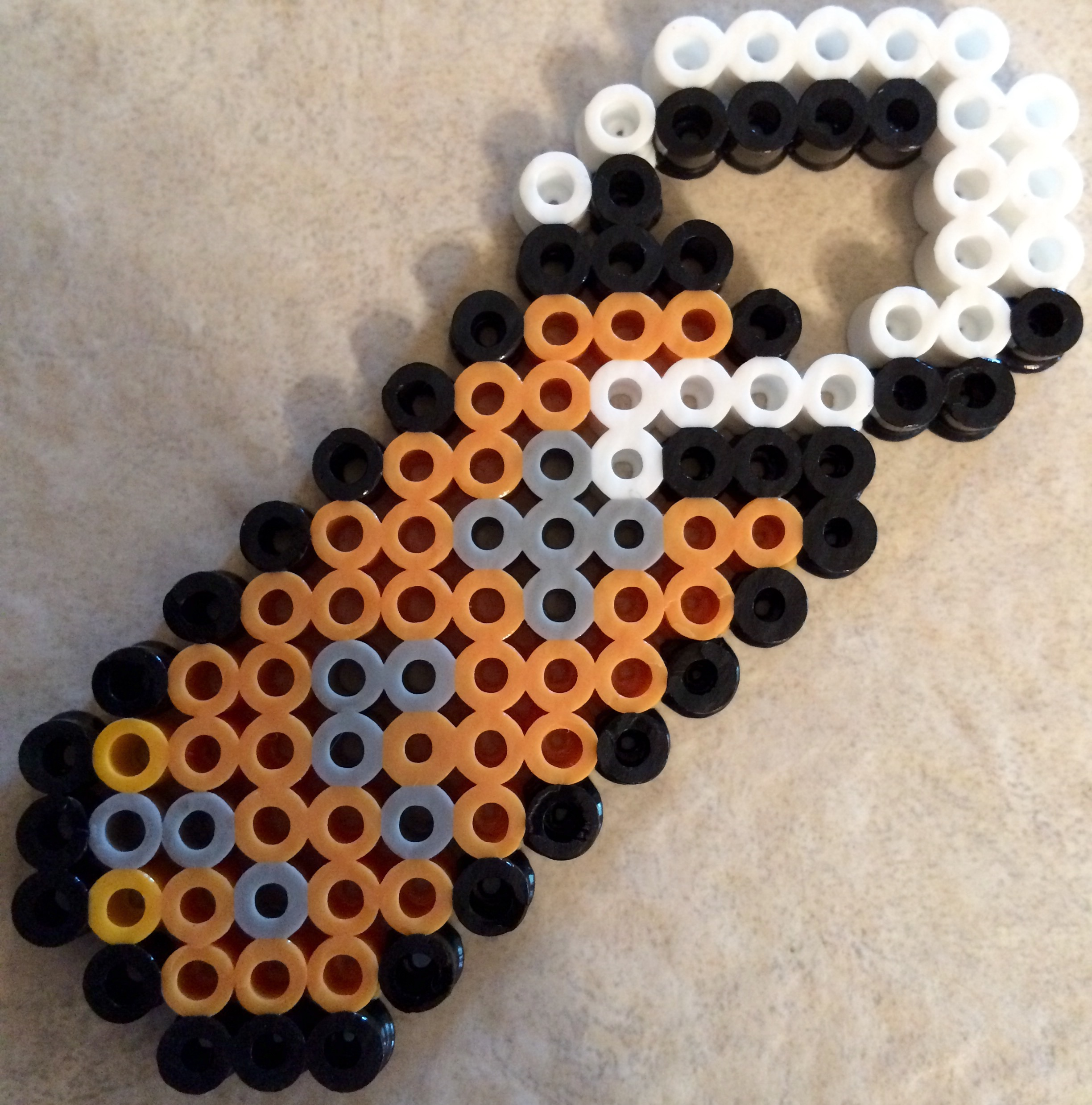 Name tag craft ideas -  Perler Minecraft Name Tag By Lizc864 By Lizc864