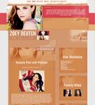 Zoey Deuth Simple Wordpress Theme