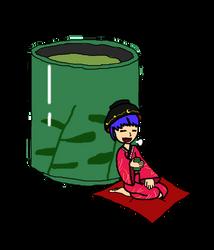Shinmy's Little-Big Tea Break (Doodle) by Goomba98