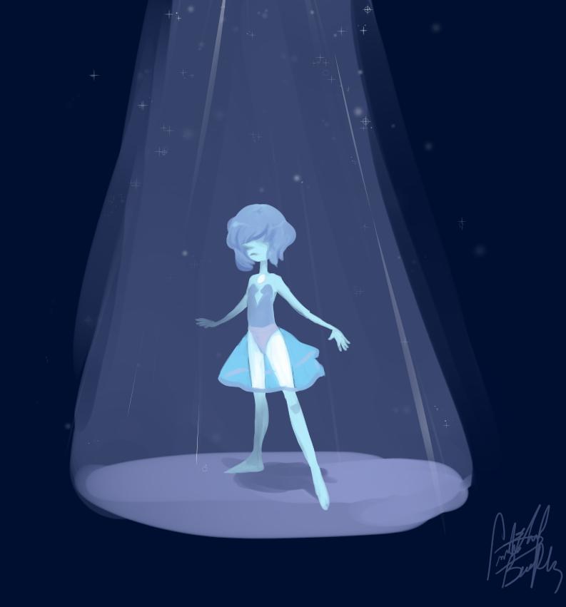 The Blue Diamond's Pearl