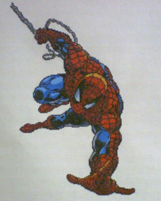 Spider-Man Cross-Stitch by saber4734