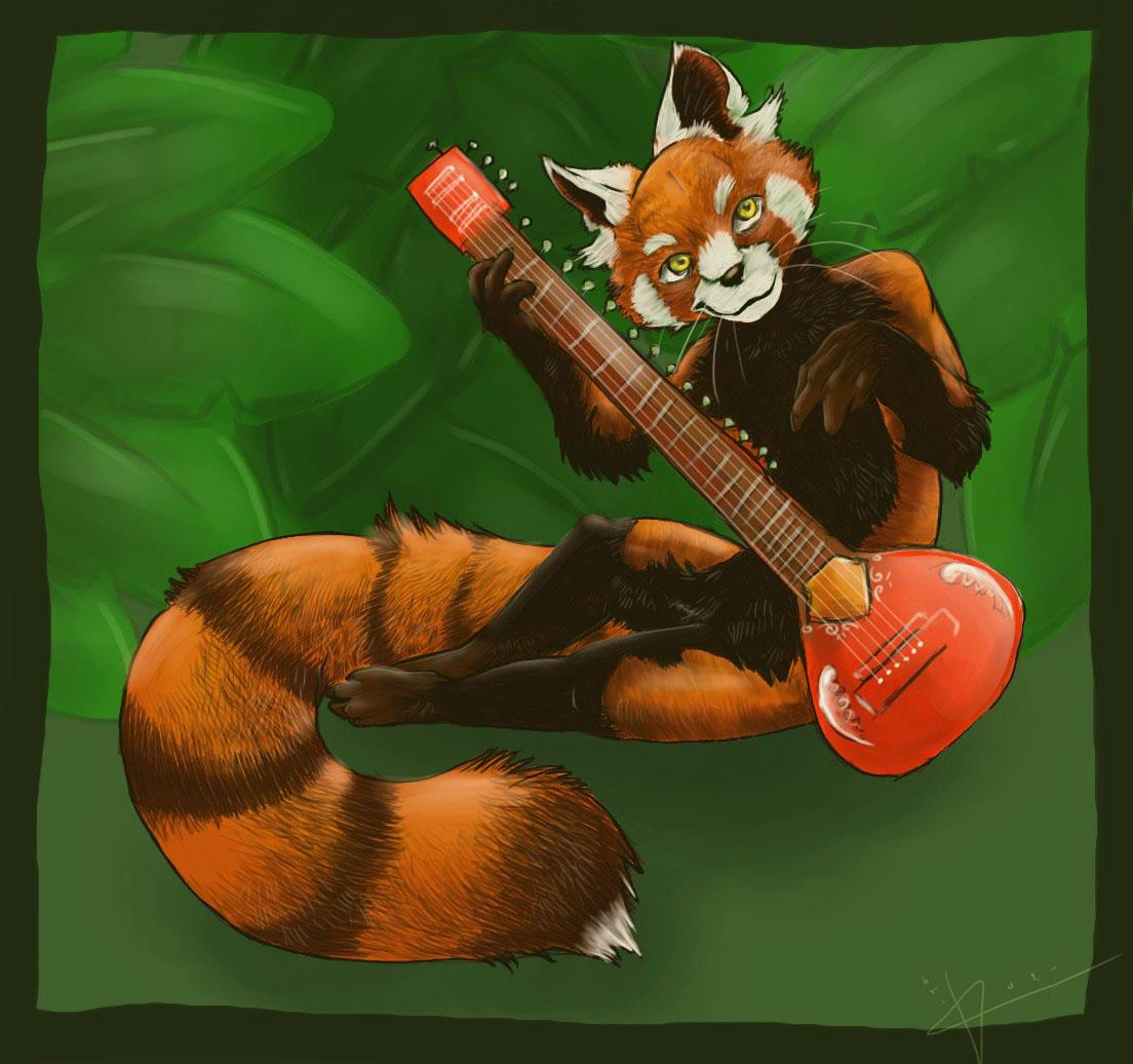 .:Red Panda:. by darkrose2401