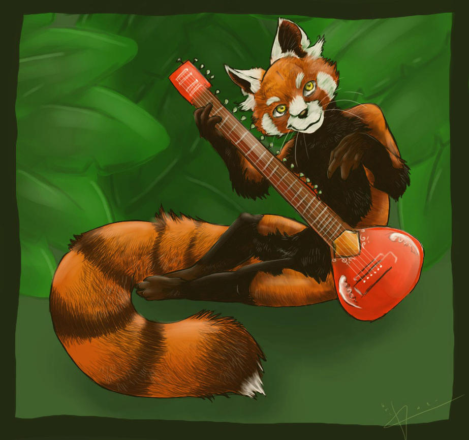 .:Red Panda:. by FoxLogic