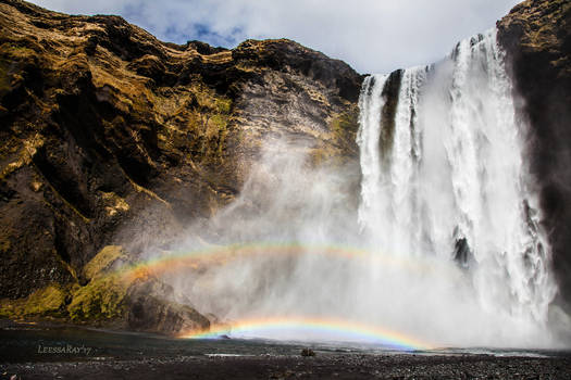 Double Rainbow, Skogafoss