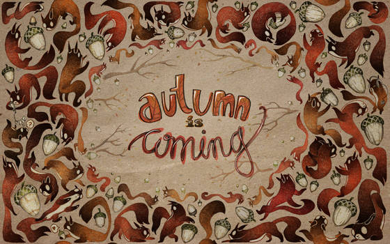 Squirrely autumn