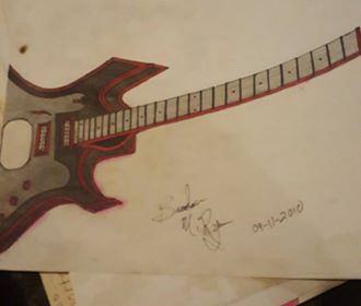 Guitar by mrbutters1984
