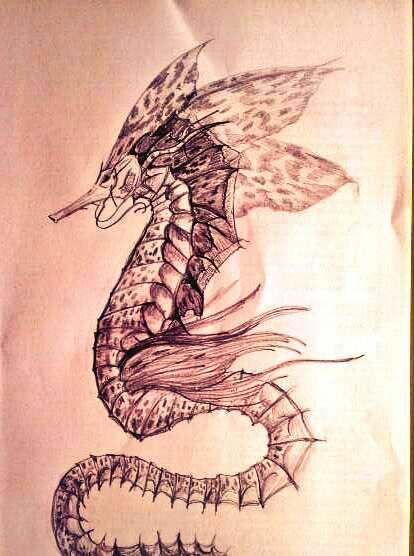 seahorse by zalattaDRK