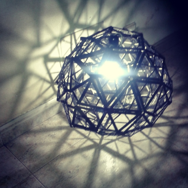 Geodesic Lamp by zalattaDRK