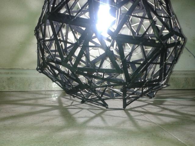 Geodesic Lamp 2 by zalattaDRK