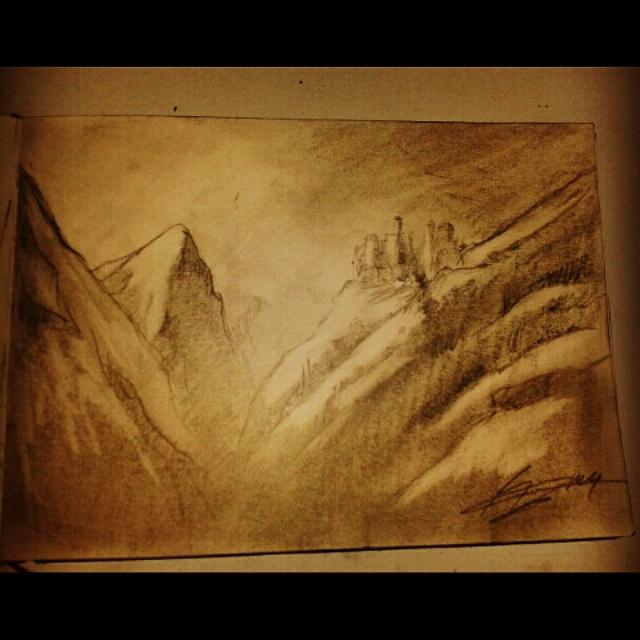 Mountain by zalattaDRK
