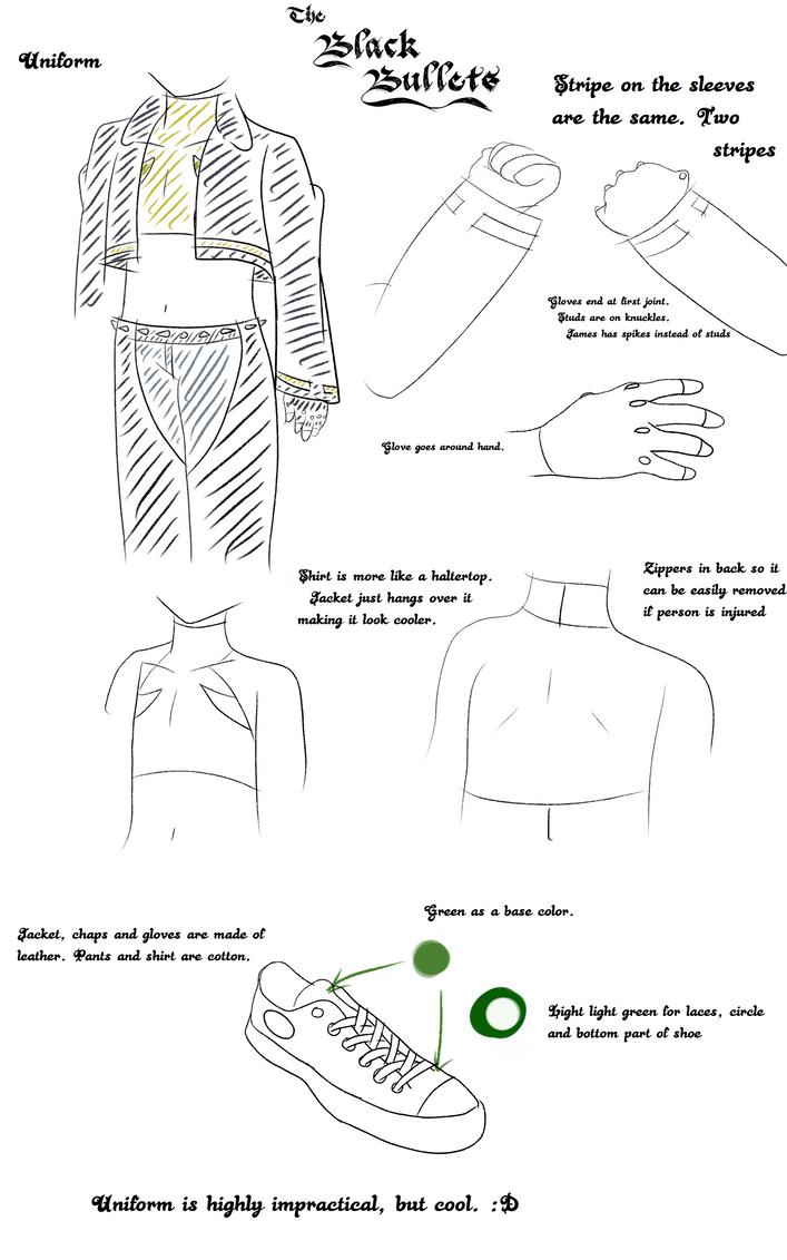 The Black Bullet's Uniform Guide by TheBlackBullets