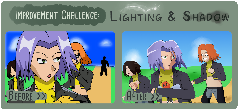 Lighting Challenge by TheBlackBullets