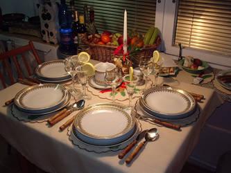 vianocny stol by jos24