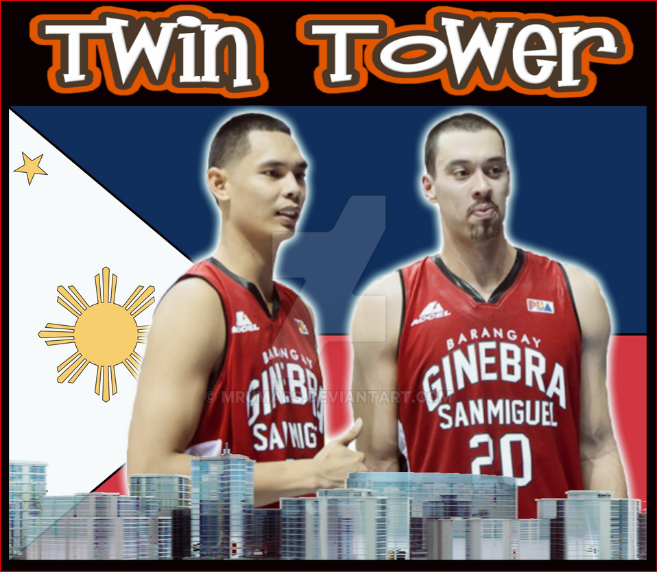 BGSM Twin Tower Japeth Aguilar and Greg Slaughter by ...